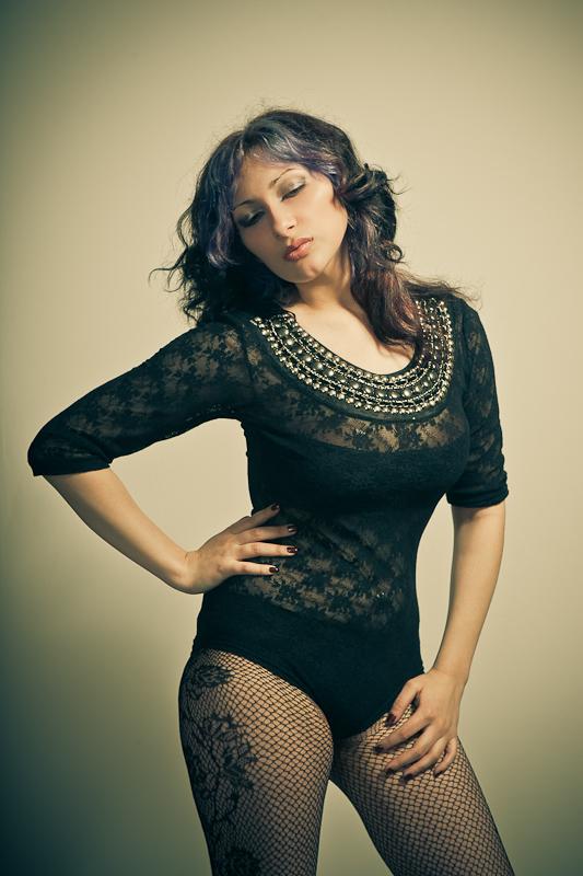 Model Chantelle.