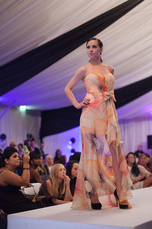 ShootDHS model Lisa at Essex Fashion Week.