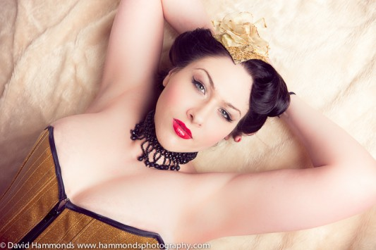 Gemma Sheree, burlesque star
