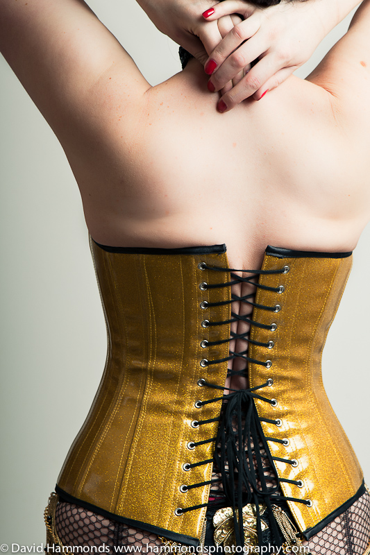 Heresy corset detail.