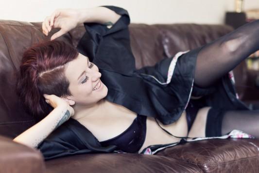 Burlesque boudoir photography Bristol and Bath