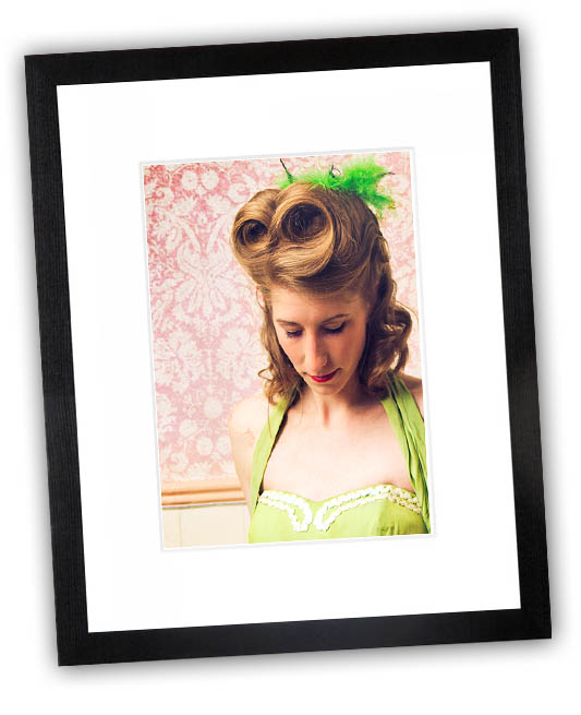 Perfectly framed protraits can be the centrepieve of your living space.