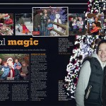 A double-page spread form the magazine.